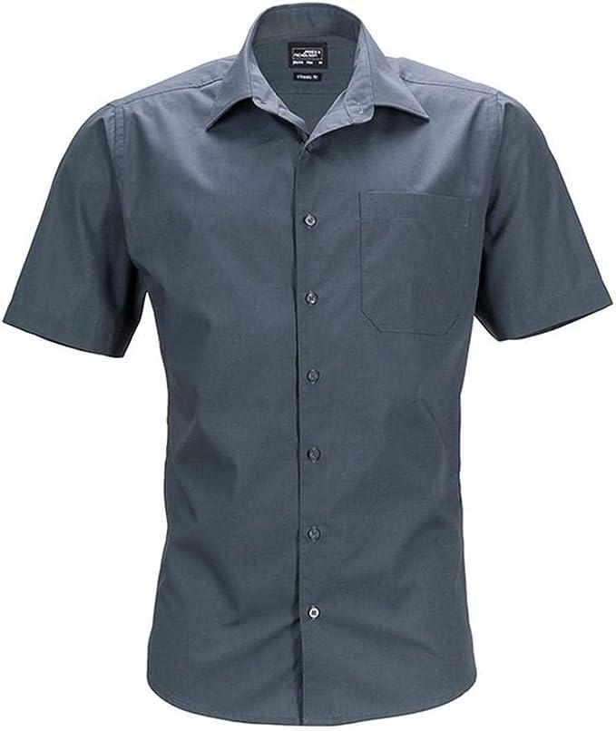 James and Nicholson - Camisa de Manga Corta Business para Hombre Caballero: Amazon.es: Ropa y accesorios