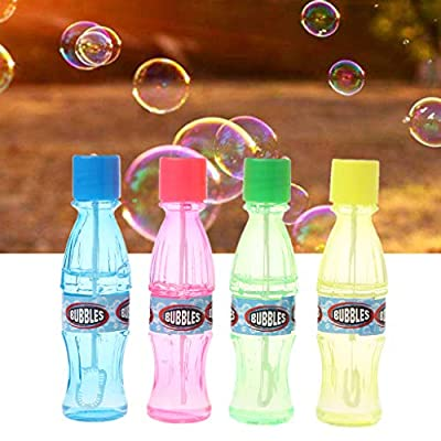 Autone Super Magic Bubble Soap Cola Bottles Won't Burst Bubbles Blower Magic Toy Wedding Birthday Party Favors Bubbles Maker Kids Outdoor: Arts, Crafts & Sewing