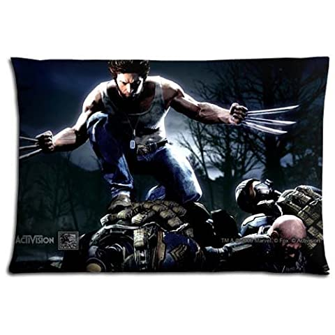 16x24 inch 40x60 cm bedding pillow covers cases Polyester Cotton HIGH QUALITY King Size Wolverine and the (Wolverine Xmen Bedding)