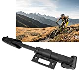 KathShop Portable Bicycle Pump Cycling Bike Air Pump Tyre Tire Ball Road Bike Pump Cycling Accessories Black