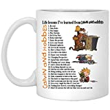 LIMITED EDITION, CALVIN AND HOBBES, MUGS WITH