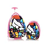 Heys America Unisex Britto Kids Luggage with Backpack Kitty One Size