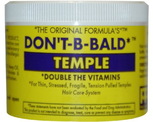 Don't B-Bald Temple Gro Hair & Scalp - Yellow 2 oz. from Don't-B-Bald