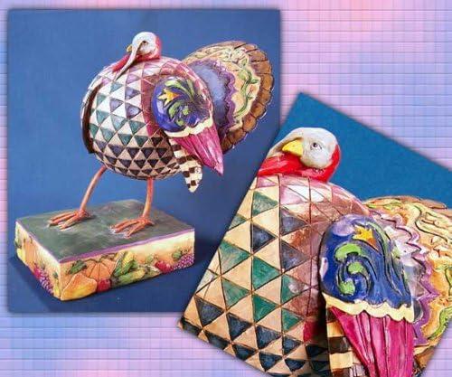 Jim ShoreStrutting Turkey Figurine for Thanksgiving