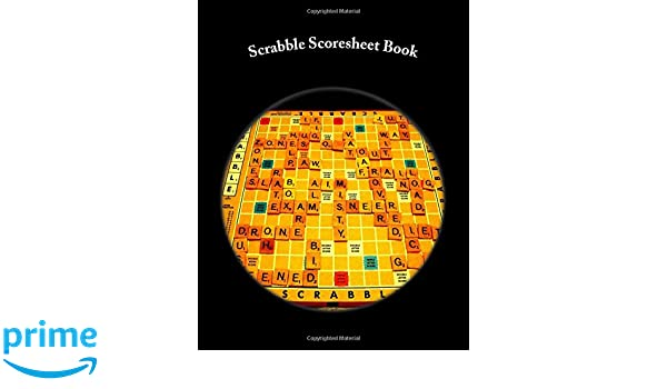 Scrabble Scoresheet Book: 100 Pages (50 sheets): Julien Coallier ...