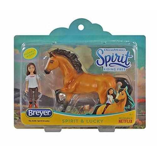 discount great deals another chance Spirit Riding Free Small Horse & Doll Set: Spirit & Lucky meilleur ...