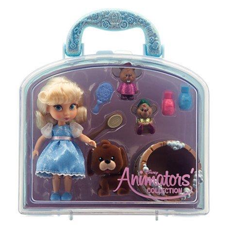 Disney Animators' Collection Cinderella Mini Doll Play Set - 5''