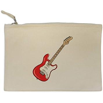 Azeeda Guitarra Eléctrica Bolso de Embrague / Accesorios Case (CL00016682)