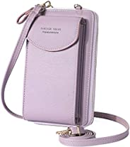 Small Crossbody Phone Bag, WantGor Shoulder Bags Cell Phone Purse Card Holder Wallet with Adjustable Strap for