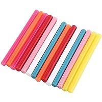 Hot Melt lijmstiften, 14 stuks mix kleur hot melt lijmstiften kit ambachtelijke bevestiging DIY gereedschap voor…