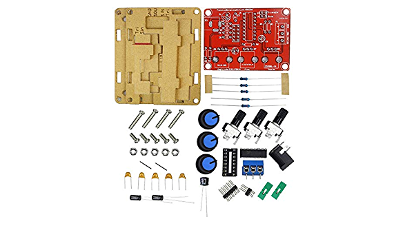 XR2206 Output 1HZ-1MHZ Function Signal Generator DIY Kit Triangle Square US