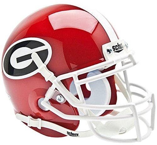 Schutt Georgia Bulldogs Mini XP Authentic Helmet - NCAA Licensed - Georgia Bulldogs Collectibles