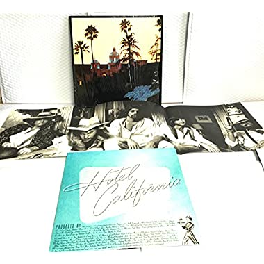 Eagles - Hotel California - Asylum Records - K 53 051, Asylum Records - AS 53051, Asylum Records - 7E-1084