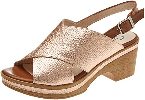 Gadea Women's 41077 Open Toe Sandals Multicolour (Orion Nude/Soft Cuero Nude) ZUYy6N