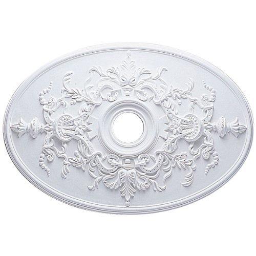 Ekena Millwork CM21X30AL 21 1/4-Inch W x 30 3/4-Inch H x 1 5/8-Inch P Alexa Ceiling Medallion by Ekena Millwork