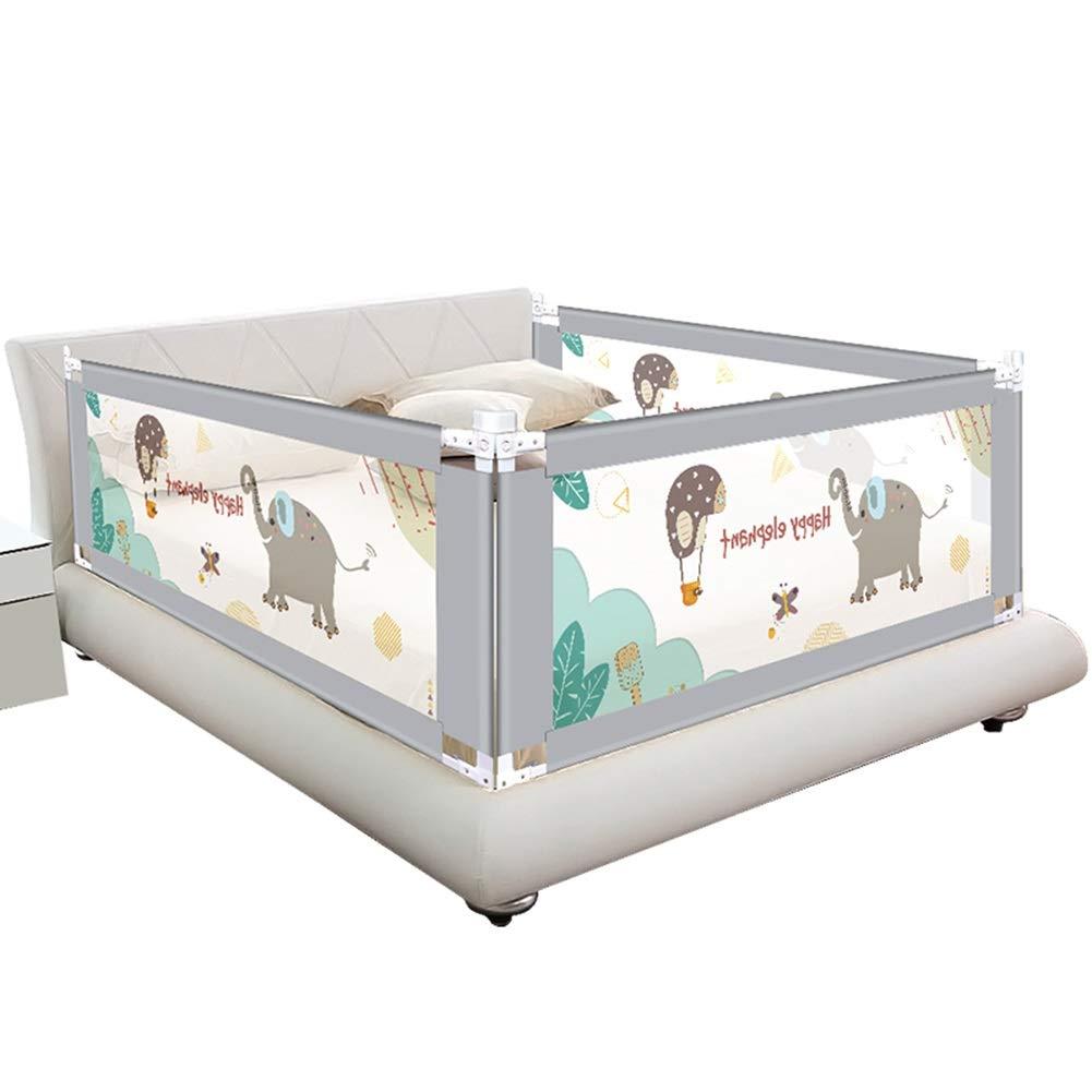 LIQICAI 幼児用ベッドレール 子供の落下防止ベッドの手すり、 垂直リフト 3つの側面のための3セット(2つの長さの側面および1つのフィートの側面) (Size : 1.8X2.0X2.0M) 1.8X2.0X2.0M  B07SWR9HW5