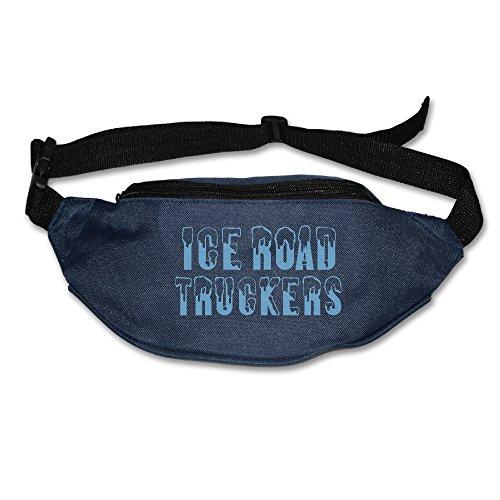 Ice Road Truckers Waist Bags For Men Women Navy (2 Colors)
