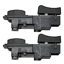 Superior Electric (2 Pack) SW44 Power Tools Hole Hawg Switch 16A-125V (Replaces Milwaukee 23-66-1020) # SW44-2pk by Superior Electric