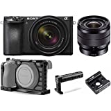 Sony Alpha a6500 Mirrorless Camera with 18-135mm f/3.5-5.6 and SEL1018 Lens