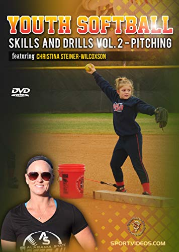 Youth League Softball Skills and Drills Vol. 2 - Pitching DVD featuring Coach Christina - Softball Pitching Dvds