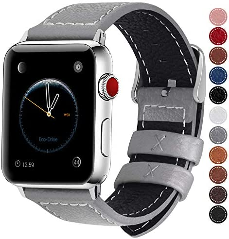 Fullmosa Compatible Genuine Leather Silver
