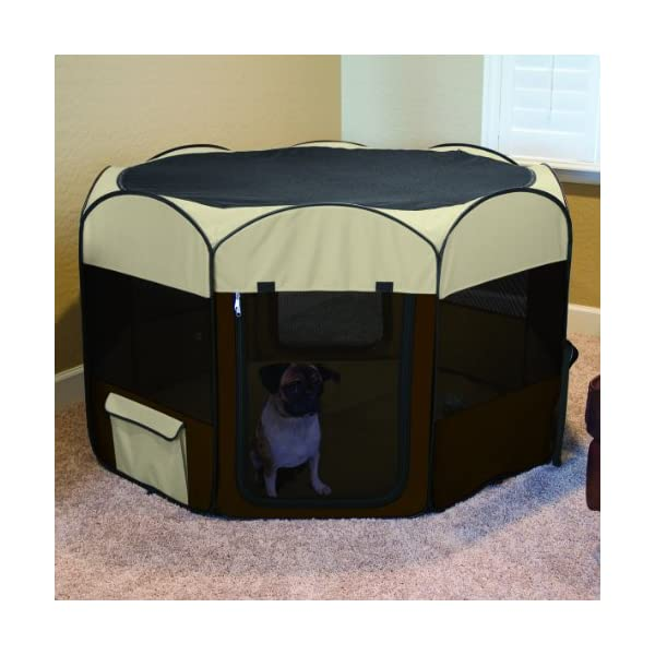 Ware Manufacturing Large Deluxe Pop Up Dog Playpen Click on image for further info. 2