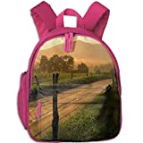 Country Road Boys Girls Cute School Bag For School