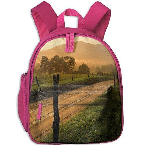 Country Road Boys Girls Cute School Bag For School