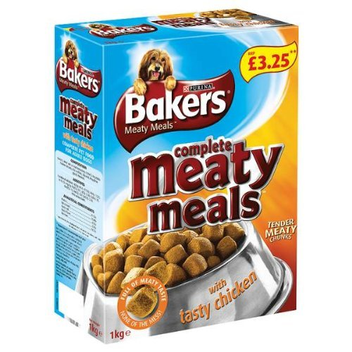 Bakers Complete Meaty Meals With Tasty Chicken 4X1Kg