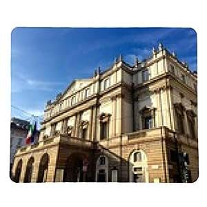 alfombrilla de ratón Milán, el Teatro alla Scala - rectangular - 23cm x 19 cm