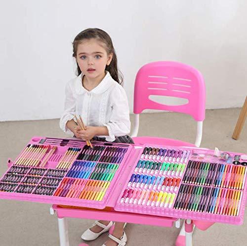 HQYDBB Kids Art Se, 288 Set per Bambini per Bambini, Scuola primaria Acquerello Penna Art n
