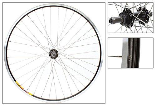 Wheel Rear 26 x 1.5, WEI-ZAC19, Black, QR Alloy FW Blk 5-7sp Hub, 14g SS Spokes, 36H