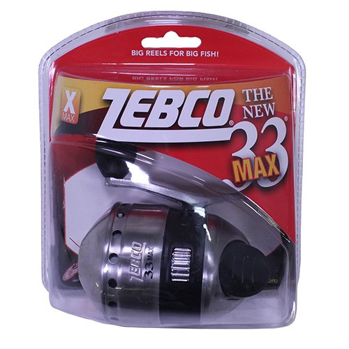 Zebco 33Max Spincast Reel, used for sale  Delivered anywhere in USA
