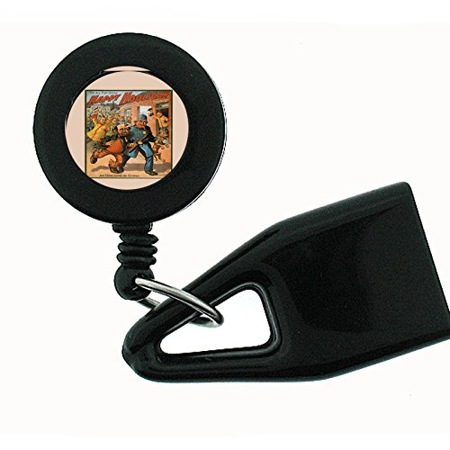 Set of 2 Lighter Leash Pull Out Clip Holder Vintage Poster D-108 The All Fun Show Happy Hooligan An Uprising In China