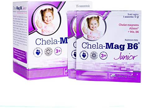 Chela-Mag B6 Junior x 15 sachets, for Children Over 3 Years