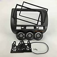 Autostereo Right Wheel 11-213 Car Radio fascia for HONDA Fit Jazz 2002-2008 Manual Air-Conditioning Right hand Car Radio Installation Frame Honda Fit Jazz Car Radio Adaptor Frame Fascia