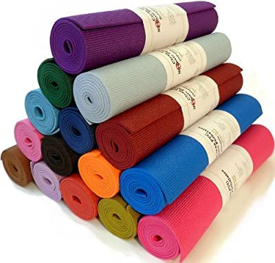 "Yoga Monster Mat 1/4""x72"" Extra Thick 17 Colors SGS Approved Non-Toxic PER No Phthalates or Latex by Bean ProductsTM from Bean Products"