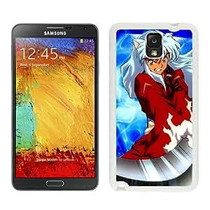 Fashion Designed InuYasha 6 White Samsung Galaxy Note 3 N900A N900V N900P N900T Phone Case