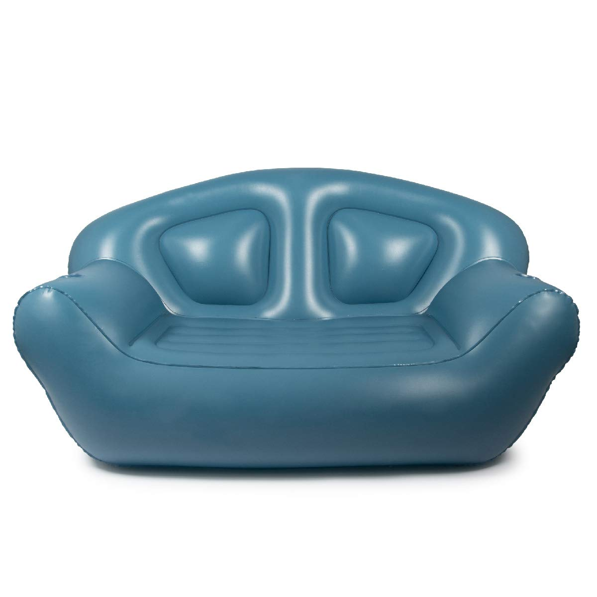 Milliard Inflatable Couch - Air Sofa – Perfect Lounger for Camping, Beach and Home (Blue)