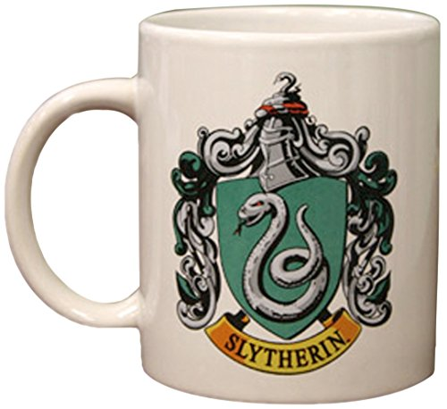 Harry Potter Slytherin Crest White