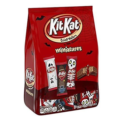 KIT KAT Halloween Spooky Miniatures, Perfect For Halloween Decorations,  Halloween Candy, 36 Ounce Bulk Candy...