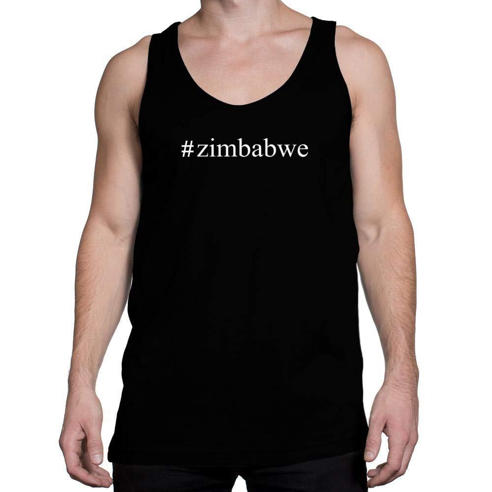 Idakoos Zimbabwe Hashtag Tank Top