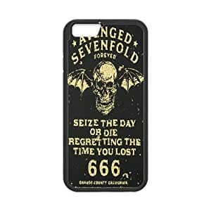 iPhone 6 4.7 Inch Cell Phone Case Black_Avenged Sevenfold_001 L6L7J