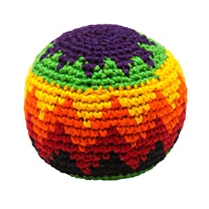 hacky sack knitted kick balls assorted colors