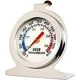 Termômetro Analógico Forno 600° Alta Qualidade Inox Com Base