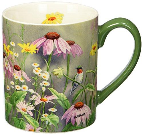 - Lang Ruby In Wildflowers Mug by Susan Bourdet, 14 oz, Multicolored