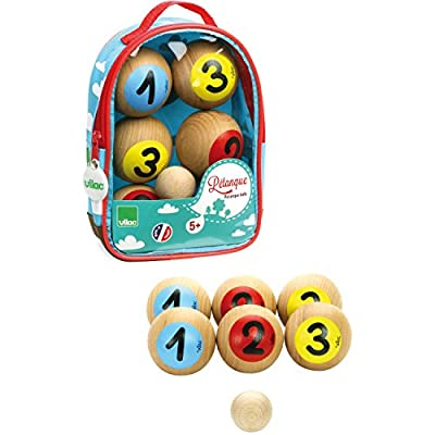 Vilac La Petanque Balls with Numbers : Baby Toys : Baby