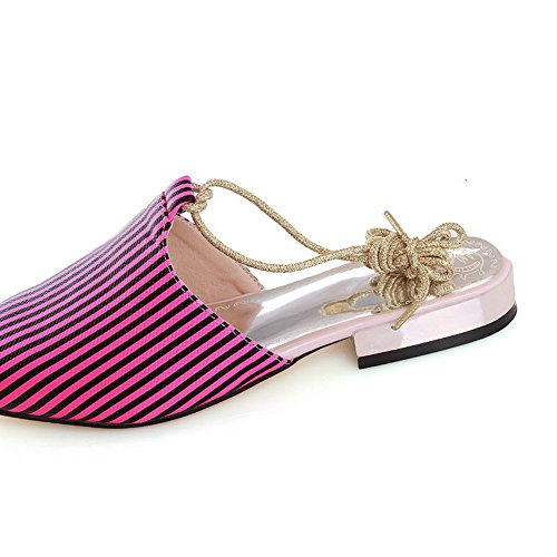 RoseRed Up Pointed Ladies BalaMasa Lace Toe Soft Sandals Material W8EOw7qw6Z