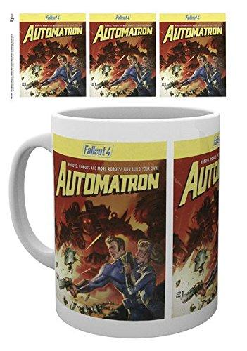Fallout 4 - Ceramic Coffee Mug / Cup (Automatron Cover)