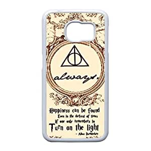 Samsung Galaxy S6 Edge case , Harry Potter Samsung Galaxy S6 Edge Cell phone case White-YYTFG-24348